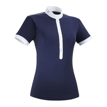 Horse Pilot CAPSULE AEROLIGHT - Show Polo Shirt - Women's - navy dot