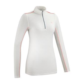 Camiseta mujer SUNTECH III white / peach