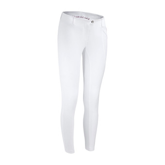 Horse Pilot X-PURE III - Pantalón mujer white