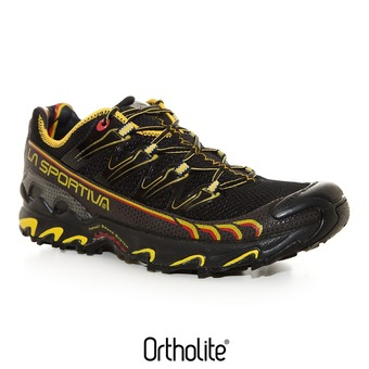 Zapatillas de trail hombre ULTRA RAPTOR black/yellow