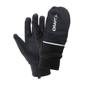 Craft HYBRID WEATHER - Guantes 2 en 1 black