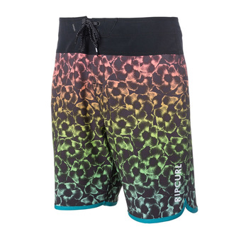 "Boardshorts - Men's - MIRAGE MASON HAZE 19"" black"