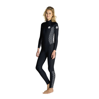 LS Full Wetsuit 3/2mm - Women's - DAWN PATROL black/white