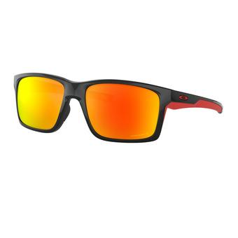 Oakley MAINLINK - Gafas de sol polarizadas polished black/prizm ruby