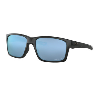 Oakley MAINLINK - Gafas de sol polarizadas polished black/prizm deep water