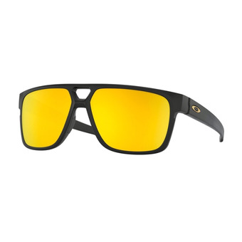 Oakley CROSSRANGE PATCH - Gafas de sol matte black/24k iridium