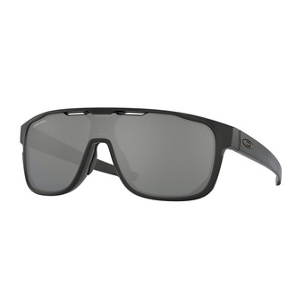 Oakley CROSSRANGE SHIELD - Gafas de sol matte black/prizm black