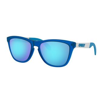Oakley FROGSKINS MIX - Sunglasses - matt translucent sapphire/prizm sapphire