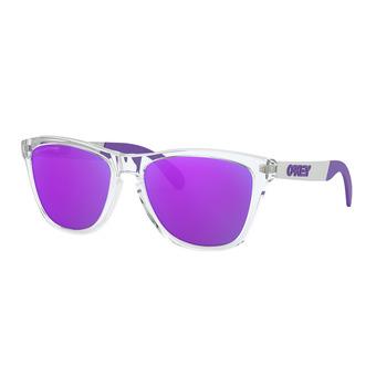 Oakley FROGSKINS MIX - Gafas de sol polarizadas polished clear/violet iridium