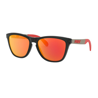 Oakley FROGSKINS MIX - Sunglasses - matt black ink/prizm ruby