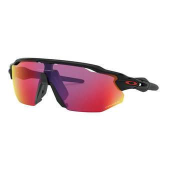 Lunettes de soleil RADAR EV ADVANCER polished black/prizm road