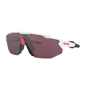 Lunettes de soleil RADAR EV ADVANCER polished white/prizm road black