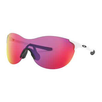 Oakley EVZERO ASCEND - Lunettes de soleil polished white/prizm road