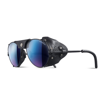 Julbo CHAM - Sunglasses - matt black/multilayer blue