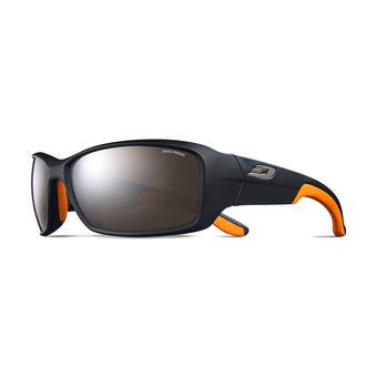 AEROLITE Polarized 3 LAITON / NATUREL Unisexe NOIR MAT / ORANGE logo ORANGE