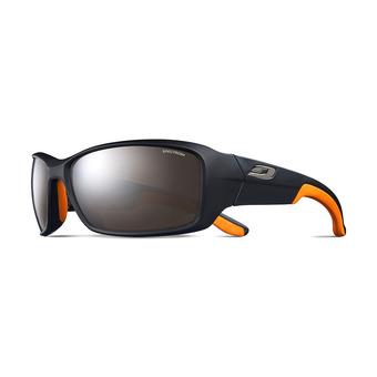 Julbo RUN - Occhiali da sole nero opaco/arancione/flash argento