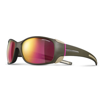 Julbo MONTEROSA - Photochromic sunglasses - army camel pink/multilayer pink