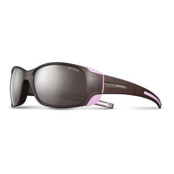 Julbo MONTEROSA - Sunglasses - Women's - aubergine pink/flash silver