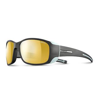 Julbo MONTEROSA - Occhiali da sole fotocromatici Donna antracite/blu menta/flash oro