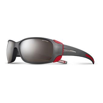 Julbo MONTEBIANCO - Occhiali da sole nero opaco/rosso/flash argento