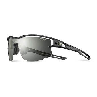 Julbo AERO - Photochromic sunglasses - transluscent black army/clear