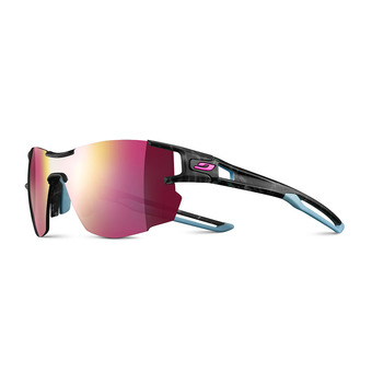 Julbo AEROLITE - Sunglasses - grey blue/multilayer pink