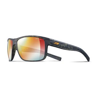 Julbo RENEGADE - Occhiali da sole camo verde/orange/multilayer rosso