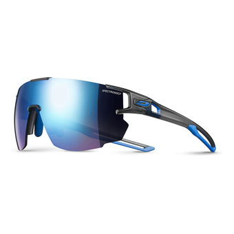 Julbo AEROSPEED - Sunglasses - translucent grey blue/multilayer blue
