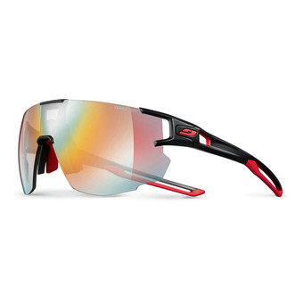 Julbo AEROSPEED - Photochromic sunglasses - black red/multilayer red