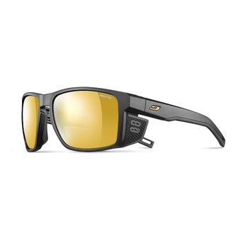 Julbo SHIELD - Gafas de sol fotocromáticas black/black/flash gold