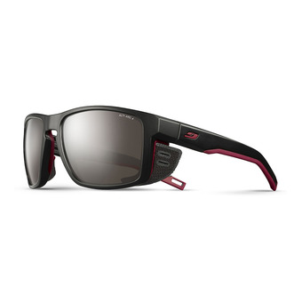 Julbo SHIELD - Gafas de sol black/black/orange/flash silver