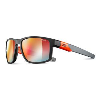 Julbo STREAM - Occhiali da sole fotocromatici nero/arancione fluo/multilayer rosso