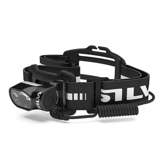 Silva CROSS TRAIL 5 ULTRA - Linterna frontal negro/blanco