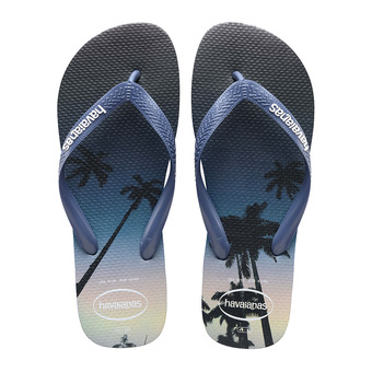 Havaianas HYPE - Tongs Homme navy blue/blue star/white