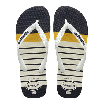 Havaianas TOP PHOTOPRINT - Chanclas hombre white/white