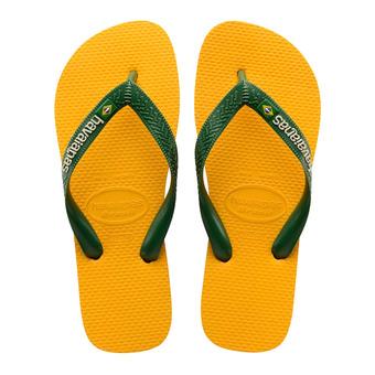 Havaianas BRASIL LOGO - Flip-Flops - banana yellow