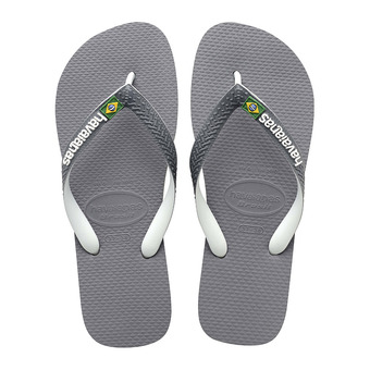 Havaianas BRASIL MIX - Chanclas grey/white/white