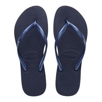Havaianas SLIM - Tongs Femme navy blue