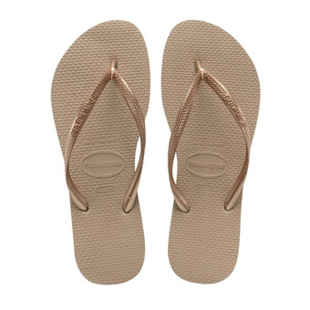 Havaianas SLIM - Chanclas mujer pink gold