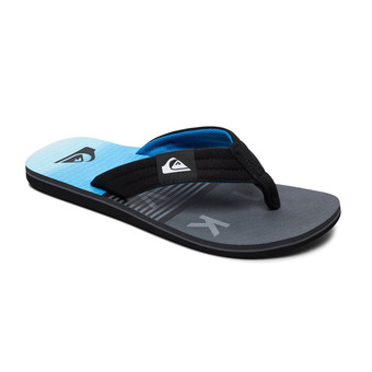 Tongs homme MOLOKAI LAYBACK black/grey/blue