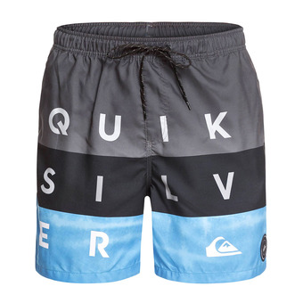 Boardshorts - Men's - WORD BLOCK VOLLEY 17 iron gate