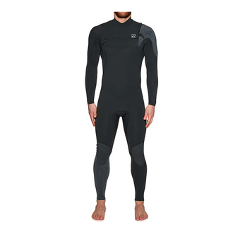 Billabong FURNACE CARBON COMP - Combinaison 3/2mm Homme black sands