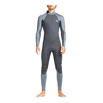 LS Full Wetsuit - 3/2mm Men's - FURNACE ABSOLUTE FLATLOCK BZ ash