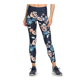 Legging femme SPY GAME dress blues full flowers fit