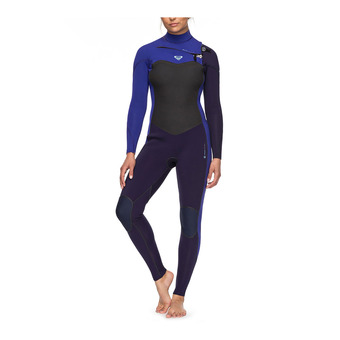 Roxy PERFORMANCE - Traje 3/2mm mujer blue ribbon/purple blue