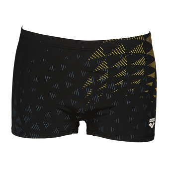 Arena ONE TUNNEL VISION - Bañador hombre black/yellow star