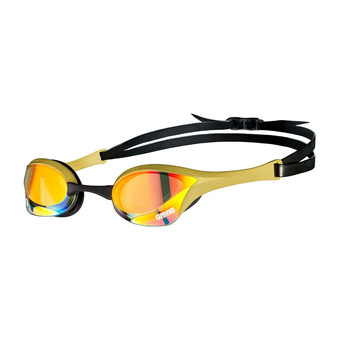 Arena COBRA ULTRA SWIPE MIRROR - Gafas de natación yellow copper/gold
