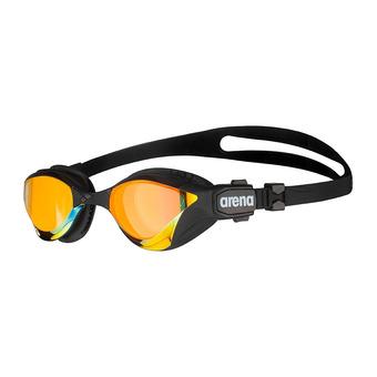 Arena COBRA TRI SWIPE MIRROR - Occhialini da nuoto yellow copper/black