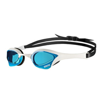 Arena COBRA ULTRA - Swimming Goggles - blue/white/black