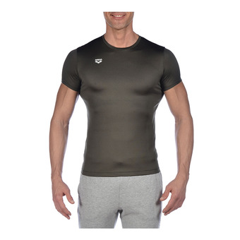 M TECH TEE Homme OLIVE GREEN
